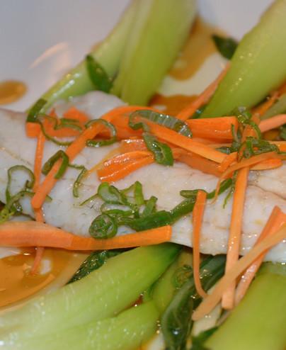 Branzino al vapore mini   - Hari restaurant - Hari ristorante giapponese con cucina asiatica roma - Consegne a domicilio (TakeAw