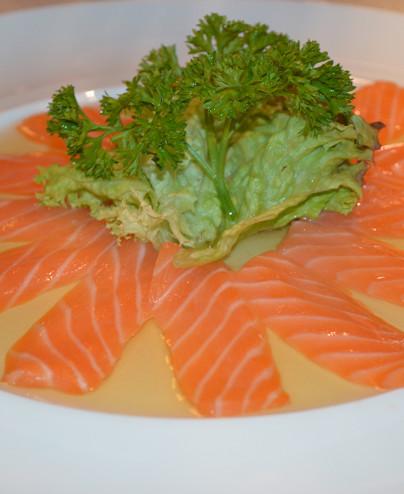 Carpaccio salmone mini   - Hari restaurant - Hari ristorante giapponese con cucina asiatica roma - Consegne a domicilio (TakeAwa