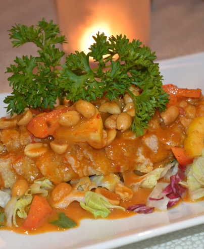 Filetto di branzino con salsa piccante mini 1 - Hari ristorante giapponese con cucina asiatica roma - Consegne -TakeAway - Honkonese - Hong kong