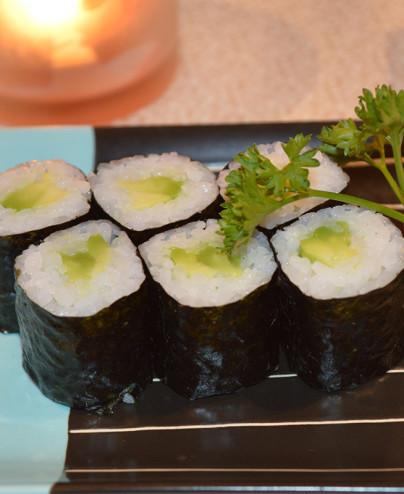 Hosomaki Avocado mini - Hari restaurant - Hari ristorante giapponese con cucina asiatica roma - Consegne a domicilio (TakeAway)