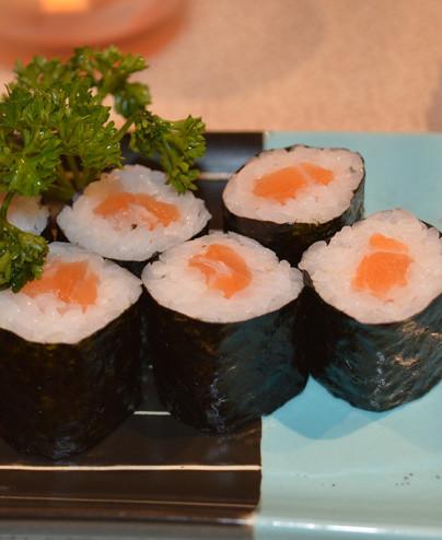 Hosomaki Salmone mini  - Hari restaurant - Hari ristorante giapponese con cucina asiatica roma - Consegne a domicilio (TakeAway)
