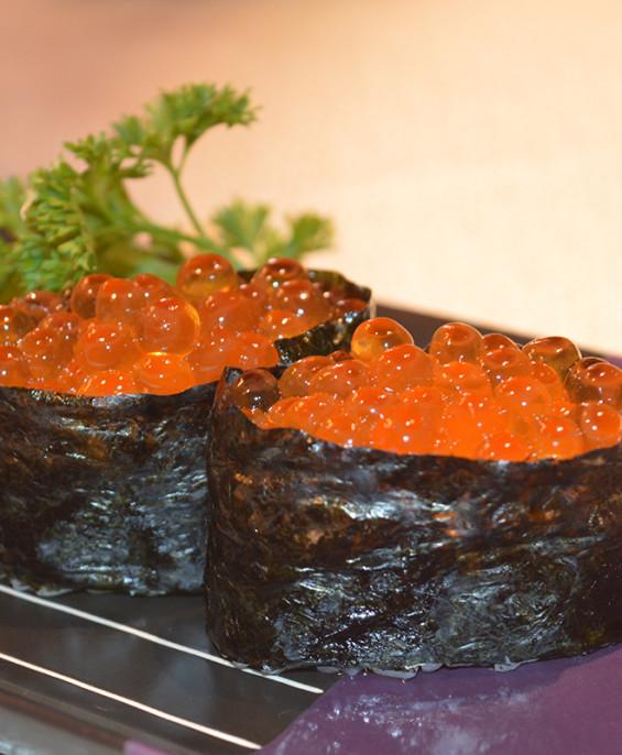 Ikura gunkan mini   – Hari restaurant – Hari ristorante giapponese con cucina asiatica roma – Consegne a domicilio (TakeAway) –
