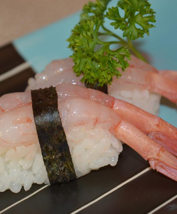 Nigiri gamberi crudi mini  Hari restaurant – Hari ristorante giapponese con cucina asiatica roma – Consegne -TakeAway – Honkones