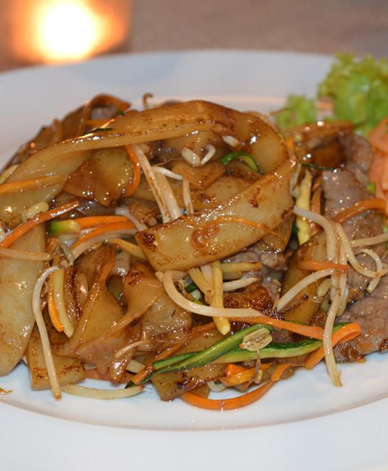 Pappardelle di riso mini   – Hari restaurant – Hari ristorante giapponese con cucina asiatica roma – Consegne a domicilio (TakeA