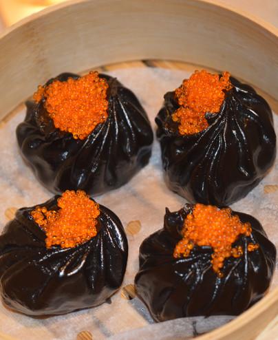 Ravioli di seppia nera mini - Hari restaurant - Hari ristorante giapponese con cucina asiatica roma - Consegne a domicilio (Take
