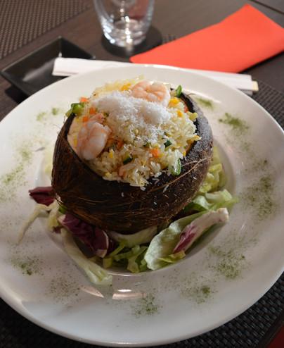 Riso con cocco e gamberi  - Hari restaurant - Hari ristorante giapponese con cucina asiatica roma - Consegne a domicilio (TakeAway) - Prenotazione