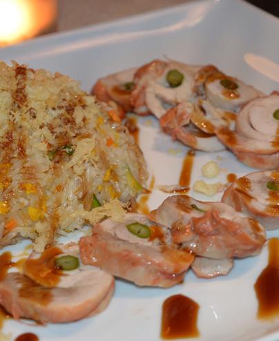 Riso con pollo in salsa teriyaki mini   - Hari restaurant - Hari ristorante giapponese con cucina asiatica roma - Consegne a dom