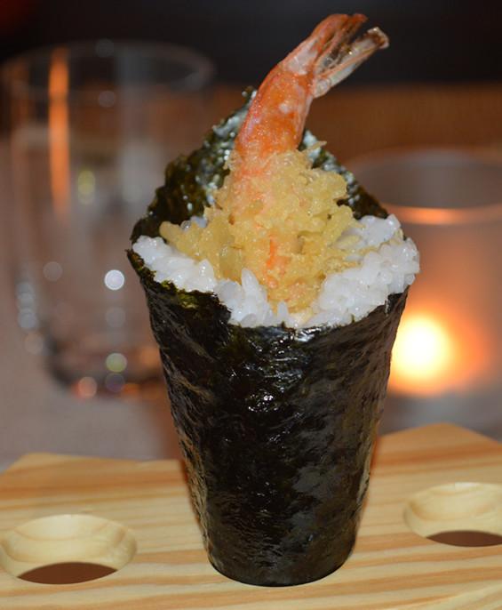 Temaki Ebi Mini  – Hari restaurant – Hari ristorante giapponese con cucina asiatica roma – Consegne a domicilio (TakeAway) – Pre