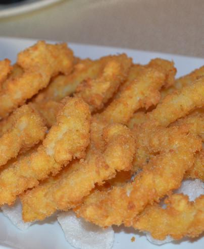 Tempura di calamari mini  Hari restaurant - Hari ristorante giapponese con cucina asiatica roma - Consegne -TakeAway - Honkonese