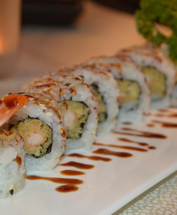 Ebi Tempura maki mini – Hari restaurant – Hari ristorante giapponese con cucina asiatica roma – Consegne a domicilio (TakeAway)