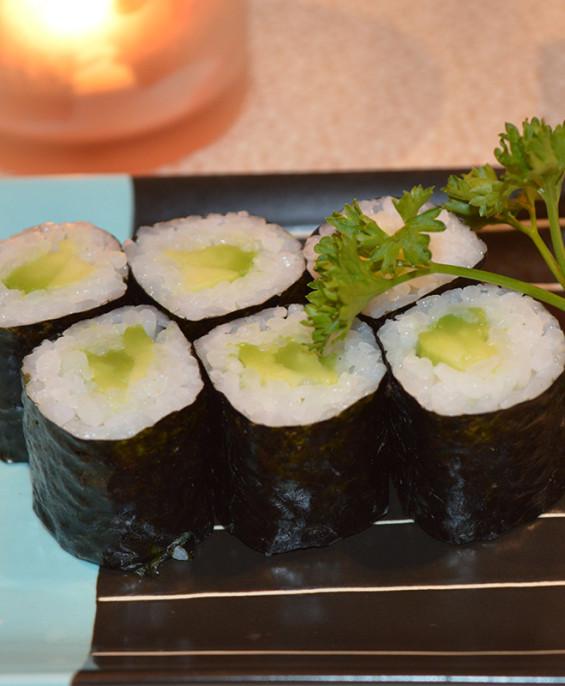 Hosomaki Avocado mini – Hari restaurant – Hari ristorante giapponese con cucina asiatica roma – Consegne a domicilio (TakeAway)