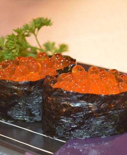 Ikura gunkan mini   - Hari restaurant - Hari ristorante giapponese con cucina asiatica roma - Consegne a domicilio (TakeAway) -