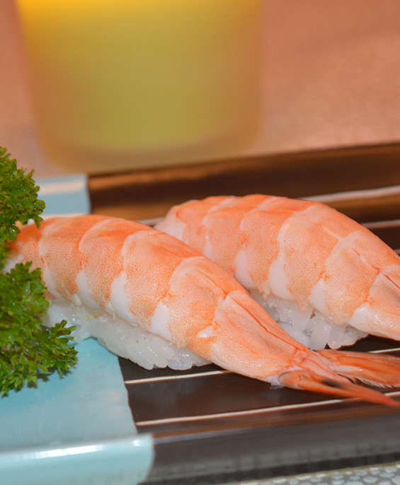 Nigiri gamberi cotti – Hari restaurant – Hari ristorante giapponese con cucina asiatica roma – Consegne a domicilio (TakeAway) –