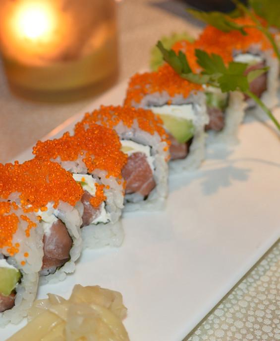 Philadelphia maki – Hari restaurant – Hari ristorante giapponese con cucina asiatica roma – Consegne a domicilio (TakeAway) – Pren