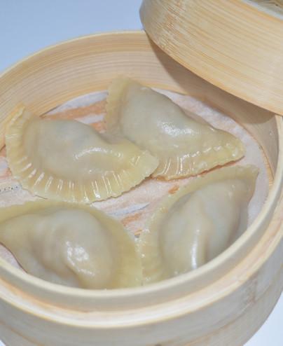 Ravioli di suino vapore mini - Hari restaurant - Hari ristorante giapponese con cucina asiatica roma - Consegne a domicilio (Tak