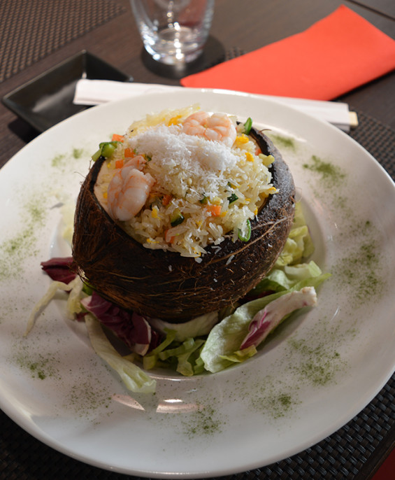 Riso con cocco e gamberi  – Hari restaurant – Hari ristorante giapponese con cucina asiatica roma – Consegne a domicilio (TakeAway) – Prenotazione