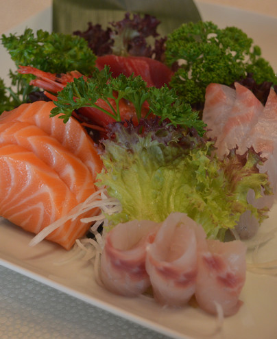 Sashimi misto mini - Hari ristorante giapponese con cucina asiatica roma - Consegne -TakeAway - Honkonese - Hong kong