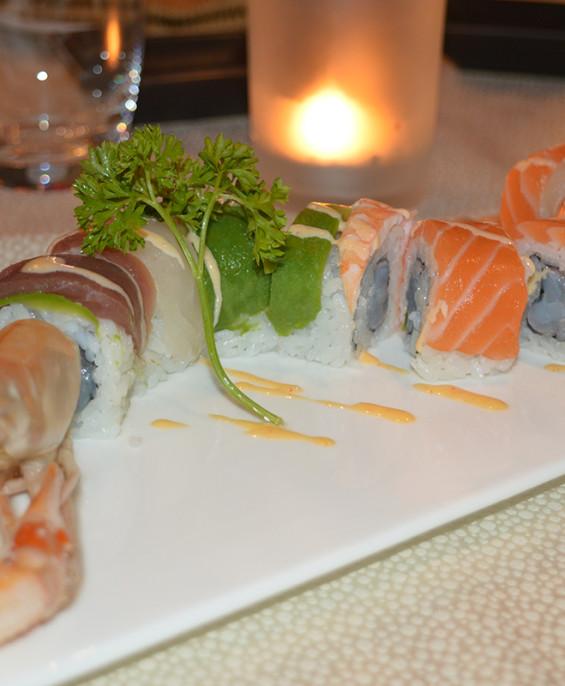 Scampi maki mini   – Hari restaurant – Hari ristorante giapponese con cucina asiatica roma – Consegne a domicilio (TakeAway) – P