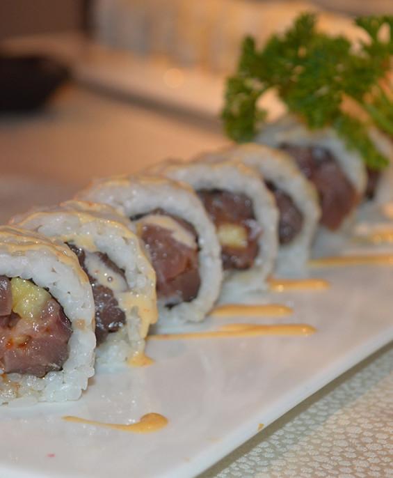 Spicy tuna mini   – Hari restaurant – Hari ristorante giapponese con cucina asiatica roma – Consegne a domicilio (TakeAway) – Pr