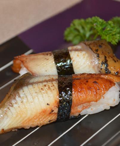 nigiri anguilla mini  Hari restaurant - Hari ristorante giapponese con cucina asiatica roma - Consegne -TakeAway - Honkonese - H